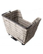 Atran Velo kurv, PICNIC basket model M, Grey, AVS