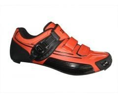 Birk 399 Carbon Oransje Sykkelsko