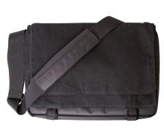 Atran Velo sykkelveske, METRO 15 Messenger top bag, Black canvas, AVS