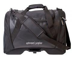 Atran Velo sykkelveske, PULSE Duffel Bag 36L, black, AVS, WR.