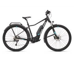 Superior E-Ride Lady Matte Black/Turquoise