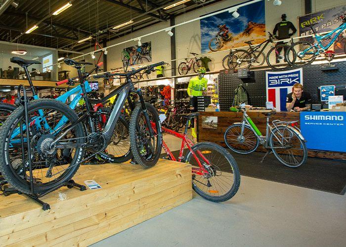 Birk Sport sykkelbutikk