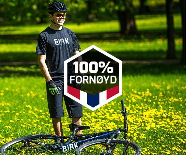 100% fornøyd-garanti