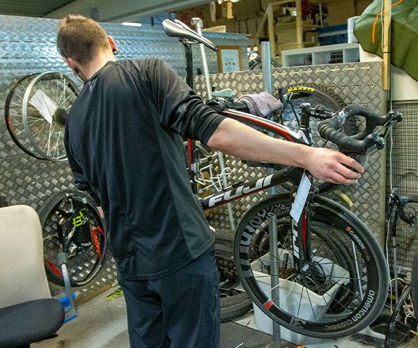Prioritert sykkelservice