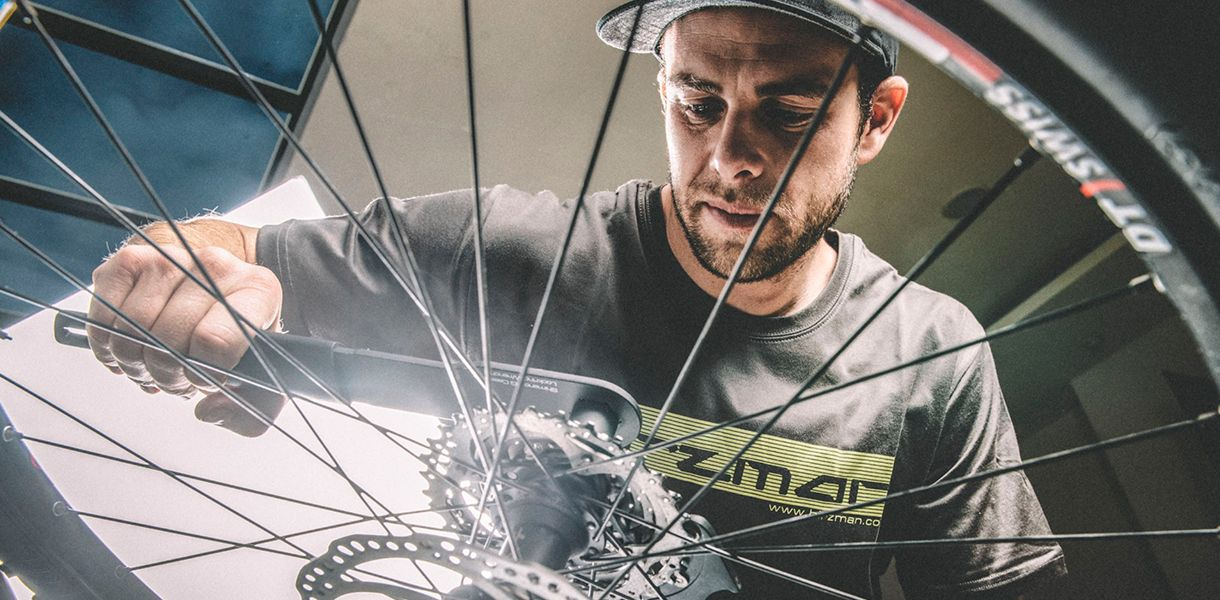Sykkelservice hos Birk Sport